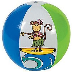 11in Inflatable Beach Monkey Beach Balls