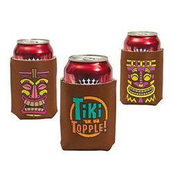 4 1/2in Foam Tiki Can Covers/ Coolers/ Can Huggers