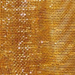 21in x 30ft Deluxe Metallic Gold Mesh Ribbon/ Netting