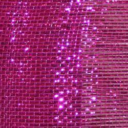 21in x 30ft Deluxe Metallic Fuchsia/ Hot Pink Mesh Ribbon/ Netting