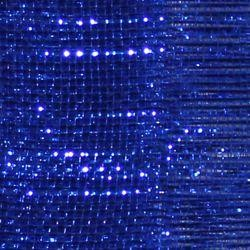 21in x 30ft Deluxe Metallic Royal Blue Mesh Ribbon/ Netting