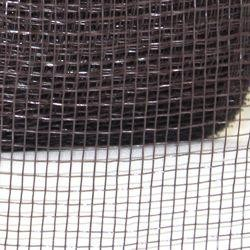 2.5in Wide x 75ft Long Mesh Roll Plain Chocolate/ Dark Brown