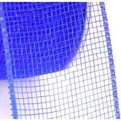 Mesh Ribbon Roll Plain Royal Blue