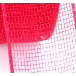 Mesh Ribbon Roll Plain Red