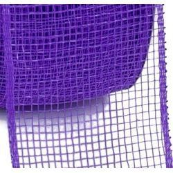 2.5in Wide x 75ft Long Mesh Roll Plain Purple