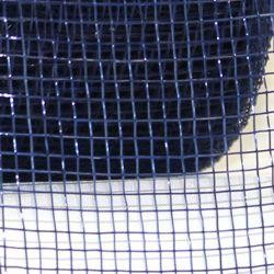 Mesh Ribbon Roll Plain Navy Blue