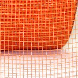 Mesh Ribbon Roll Plain Orange