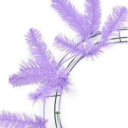 46 Tips Lavender Elevated Work Wreath Form