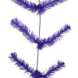 9ft Long Work Purple Garland