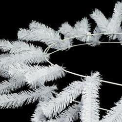 Oval Work Wreath Form: White