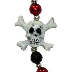 Skull and Cross Bone Pirate Beads