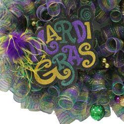 26in Deco Mesh Wreath