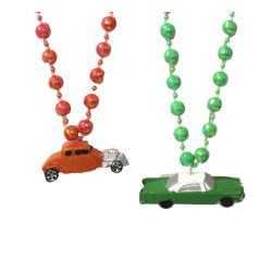 Antique Cars Necklace
