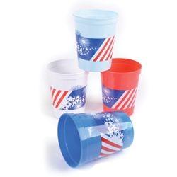 12oz Plastic Patriotic Cups