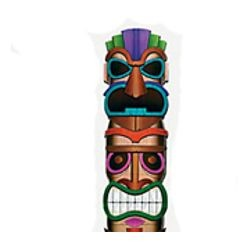 29 1/2in Wide x 5ft Tall Totem Pole Cardboard Stand-Up