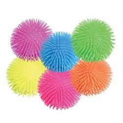 9in Assorted Colors Jumbo Puffer Ball