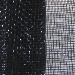 21in Wide x 30ft Long Black Plain Mesh Ribbon Netting