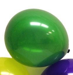 12in Purple Green Yellow Mix Latex Balloons