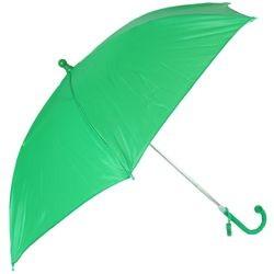 18in Long Nylon Green Umbrella w/ Plain Edge