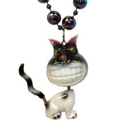 Bobble Beads: Black Cat