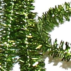 12in Long Green Tinsel Wire Chenille Stems/ Pipe Cleaners
