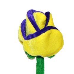 Mardi Gras Plush Roses