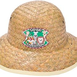 Childs Straw Safari Hat