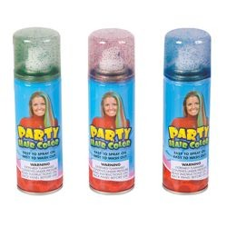 Glitter Party Hair Color