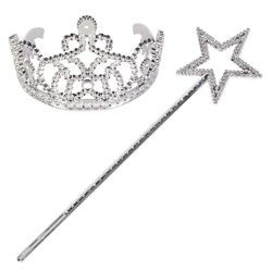 Princess Wand And Tiara Set