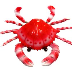 4in Wide x 1in Tall Bobbling/ Dancing Crab Magnet