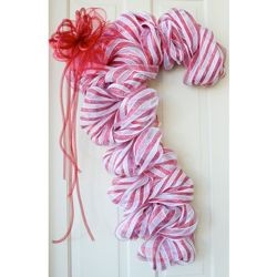 White Candy Cane Work Form