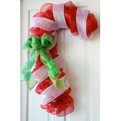 Red Candy Cane Work Form