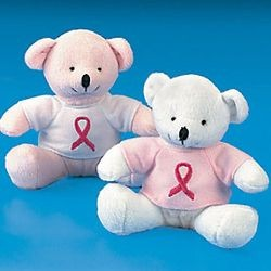 Plush Bears W/ Pink Ribbon T-Shirt
