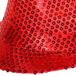 Red Sequin Fedora Hat