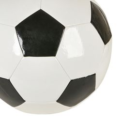 8in Size Soccer Ball Black/ white Color