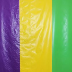 40in x 100ft Mardi Gras Plastic Table Cover Roll