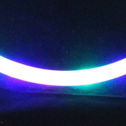 LED Chasing Lights Necklace