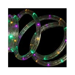 18ft LED Mardi Gras Rope Lights