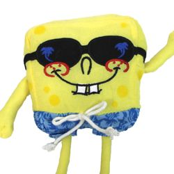7in Tall x 5in Wide Goo Lagoon SpongeBob Plush