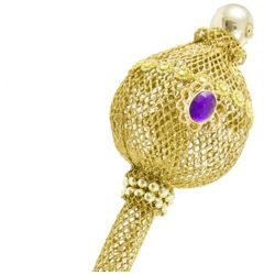 Gold Wire Ball Scepter
