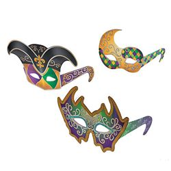 Mardi Gras Mask Glasses