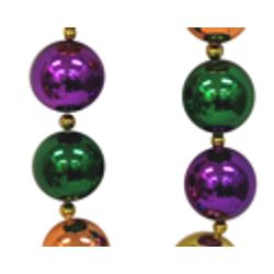 Big Balls Necklace: Rainbow Colors