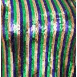 Mardi Gras Party Sequin Top Shirt Dress Size Medium