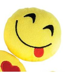 5in Emoticon/ Emoji/ Smiley Face Plush