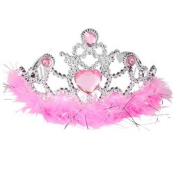 4in Feather Tiara