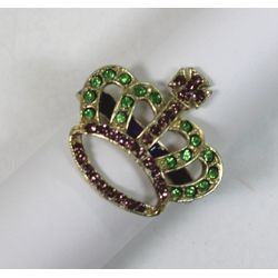 Mardi Gras Crown Napkin Ring/ Holder