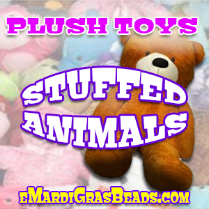 Stuffed Animals: great for gifts, give-a-ways, and redemption games.