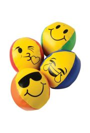 2in Smiley Face Kickballs
