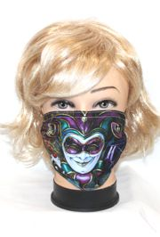 Mardi Gras Protective Face Masks with Removable Filter and Adjustable Straps
