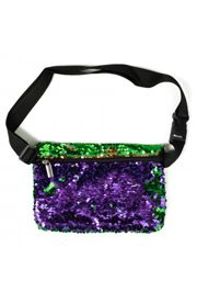 Mardi Gras Sequin Fanny Pack/Purse